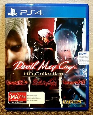 AU35 • Buy Devil May Cry (pal) • Trilogy / Hd Collection • Playstation 4 (ps4) • Brand New
