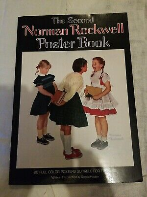 $ CDN26.03 • Buy The Second Norman Rockwell Poster Book By Rockwell Norman 1st Printing 1977