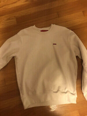$ CDN232.01 • Buy Supreme Small Box Logo Crewneck Natural Medium