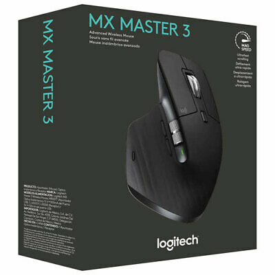 AU149.99 • Buy Logitech MX Master 3 Advanced Wireless Mouse (Free Postage)