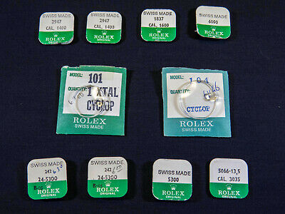 $ CDN185 • Buy Assortment Of New Rolex NOS Genuine Vintage Watch Parts