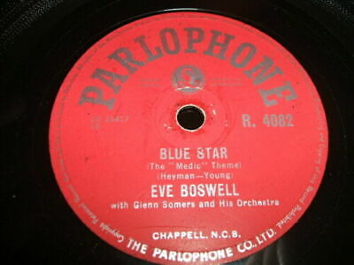 £4.99 • Buy 78rpm Parlophone R4082 - Eve Boswell - Blue Star / Pickin' A Chicken