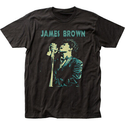 $21.70 • Buy James Brown Singing Classic Fitted Jersey T-Shirt