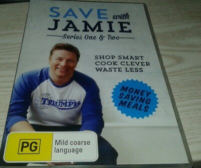 AU20 • Buy Save With Jamie Series One & Two DVD R4