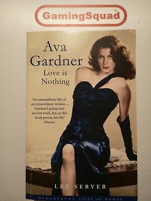 Ava Gardner, Lee Server PB Book, Supplied By Gaming Squad • 3.90£
