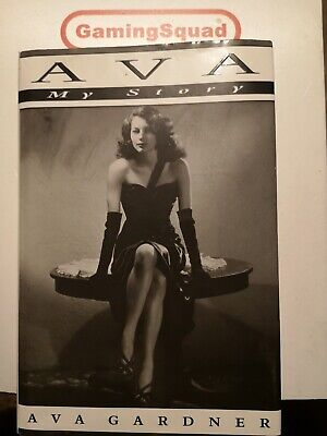 Ava My Story, Ava Gardner HB Book, Supplied By Gaming Squad • 4.50£