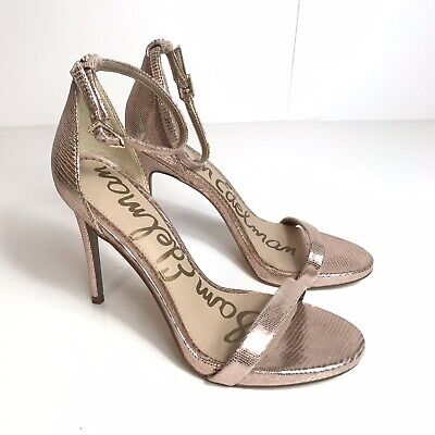 $ CDN38.62 • Buy Sam Edelman Ariella Rose Gold Heels Size 6.5.  48