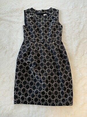 $ CDN38 • Buy Hi There From Karen Walker Embroidered Sheath Dress Size 10 Anthropologie