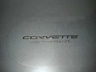 $10 • Buy 2007 CORVETTE Z06 Coupe / Convertible DELUXE SALES BROCHURE New Sealed Packaging