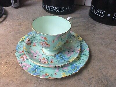 Shelly Trio, Cup, Saucer & Side Plate -  Melody • 35£