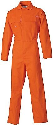 DICKIES Proban Overall Flame Retardant Boilersuit, Size 48R (120/124 Ch) FR4869 • 19.99£