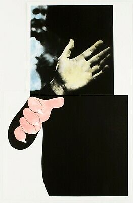John Baldessari: Two Hands With Distant Figure, 1989-90. Signed, Numbered, Print • 3,369.02£
