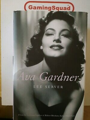 Ava Gardner, Lee Server HB Book, Supplied By Gaming Squad • 4.50£