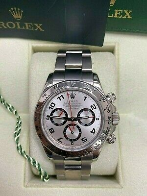 $ CDN35520.02 • Buy Rolex Daytona Cosmograph 116509 Silver Dial Unpolished 18K White Gold Box Books