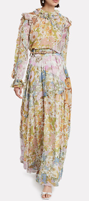 $409 • Buy ZIMMERMANN Super Eight Floral Maxi Skirt US Size 6-8 Orig. $995 NWT