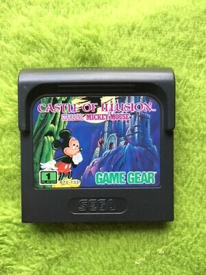 AU17.40 • Buy Game Gear - Castle Of Illusion Starring Mickey Mouse (only Module)