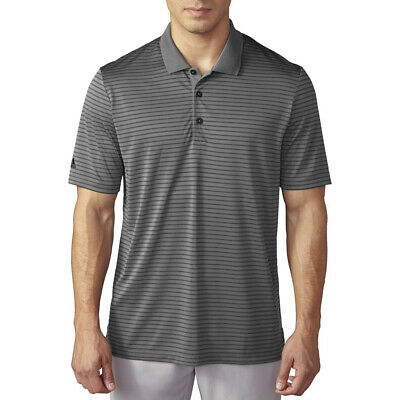 $14.99 • Buy New Adidas Golf ClimaCool 2-Color Pencil Stripe Lightweight Polo - Pick Shirt
