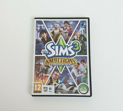 The Sims 3: Ambitions Expansion Pack - PC / MAC Game - Complete • 4.99£