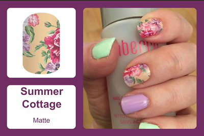AU5 • Buy Summer Cottage Jamberry Nail Wraps  (half Sheet)