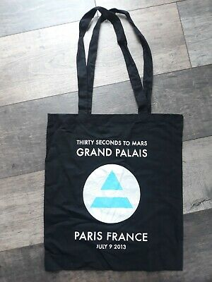 £9.99 • Buy Rare 30 Seconds To Mars Jared Leto Tote Bag Authentic