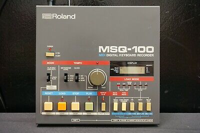 AU499 • Buy Roland MSQ-100 Vintage MIDI Digital Keyboard Recorder For Juno-106 & More!