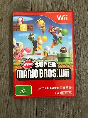 "AU32.99 • Buy NINTENDO WII Game ""NEW SUPER MARIO BROS"" Wii U Compatible Brothers"