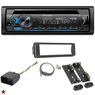 $135.45 • Buy For Harley Touring Pioneer Deh-s4220bt Bluetooth Radio Stereo Adapter Kit New!
