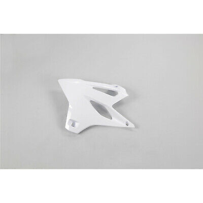 AU79.99 • Buy UFO Plastic RADIATOR SHROUDS Yamaha Motor Bike YZ85 2015-2019 Model WHITE