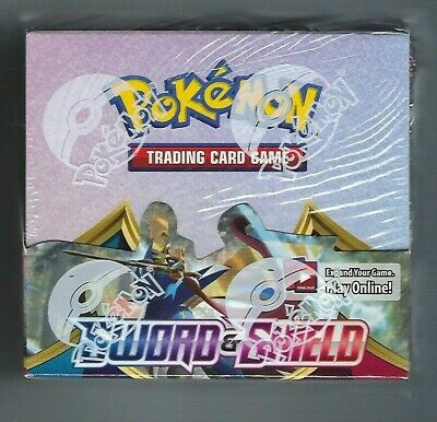 $209.99 • Buy Pokemon TCG Sword And Shield Booster Box 36 Booster Packs