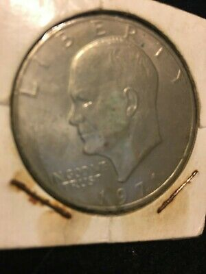 """$23 • Buy Vintage 1971 Eisenhower """"Ike"""" ONE DOLLAR LIBERTY $1 COIN Appears MINT/NEAR MINT"""
