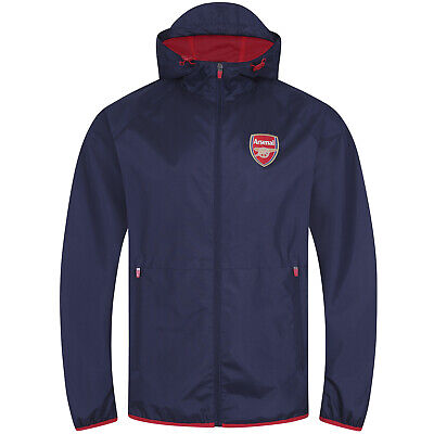 Arsenal FC Official Football Gift Mens Shower Jacket Windbreaker • 29.99£