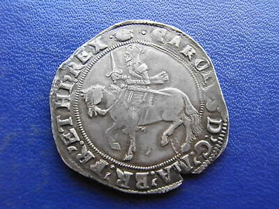 Charles I Half-crown Tower Mint Group III Type 3a1 Mm: Tun • 613£