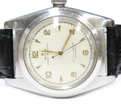 $ CDN3950 • Buy Rolex Bubbleback Oyster Perpetual 2940 Automatic Watch Vintage C.1945