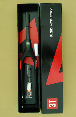 $441.75 • Buy 3T Rigid Team MTB 29  29er Carbon Fork Tapered 1.5 To 1-1/8 New