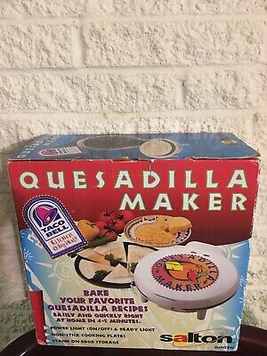 $85 • Buy Quesadilla Maker Taco Bell Kitchen Original White Brand New