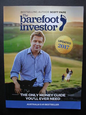 AU22.95 • Buy THE BAREFOOT INVESTOR: Scott Pape: The Only Money Guide You'll Ever Need.