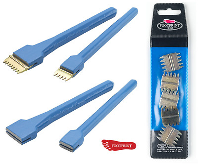 £8.95 • Buy Footprint Scutch Comb Holding Chisel 1  & 1 1/2 , 5pc Scutch Combs Bricklayers