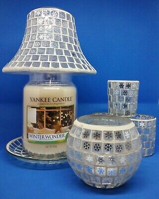 Candle  Accessories . Shade & Tray. Votive And Tea Light Holders. Wax Warmer. • 19.99£