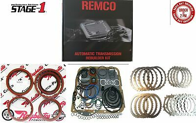 AU254.25 • Buy Th700r4(82-93) Transmission Master Kit With Overhault Kit Stage-1 Raybestos Red