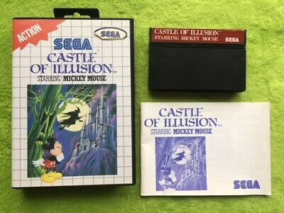 AU33.97 • Buy Master System - Castle Of Illusion Starring Mickey Mouse (Complete)