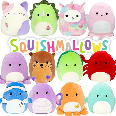AU14.95 • Buy Squishmallows 8  Super Soft Cuddle & Squeeze Squishy Animal Plush Toy - Age 0+