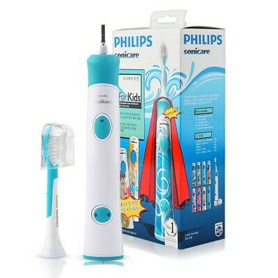 AU96.90 • Buy Philips Sonicare For Kids Rechargeable Sonic Toothbrush Hx6311/07