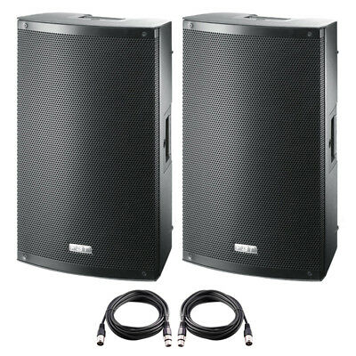 £664 • Buy 2x FBT X-LITE 10A 10  2000W Powered Active PA Speaker Stage Monitor Disco Band