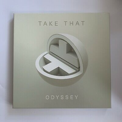 Take That Odyssey Deluxe Cd Boxset Signed Print Book Photos Gary Barlow Howard  • 59.99£