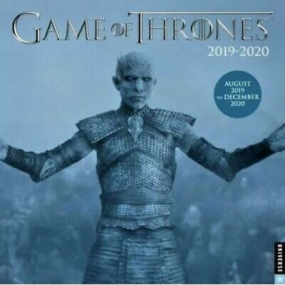 $5.50 • Buy Game Of Thrones 2019 2020 Calendar 17-Month By HBO BEST SELLER NEW