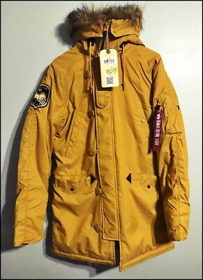 $ CDN265.34 • Buy Alpha Industries Altitude N3-B Parka Extreme Cold Weather ~ [-BNWT-]   Bomber