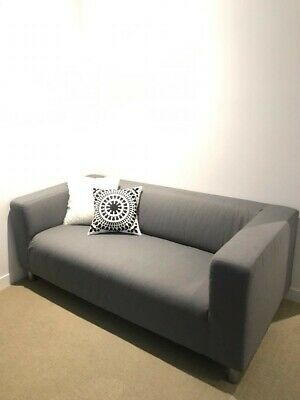 AU170 • Buy IKEA Couch As New Condition Grey Can Deliver For Small Fee COD Preferred
