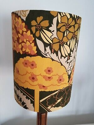 Stunning Vintage Heal's Fabric Lampshade  • 28£
