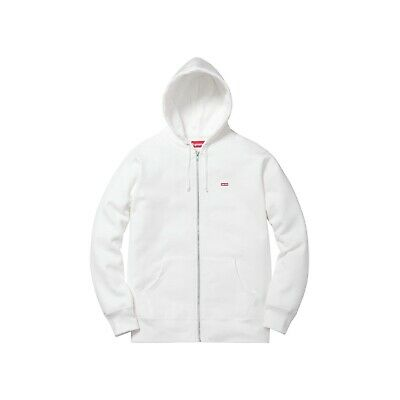 $ CDN260.64 • Buy Supreme FW16 Small Box Logo Floral Thermal Zip Up Hoodie Jacket Hype White Large