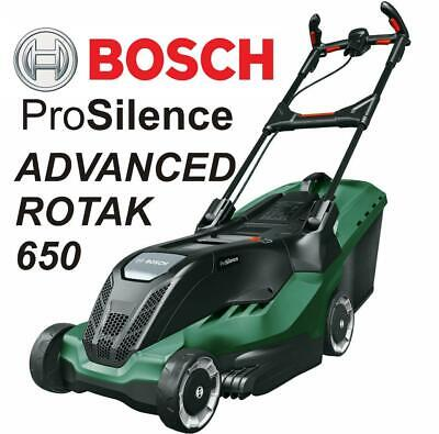 Bosch AdvancedRotak 650 Ergoflex ProSilence Lawnmower 41cm Corded Electric Rotak • 199.99£